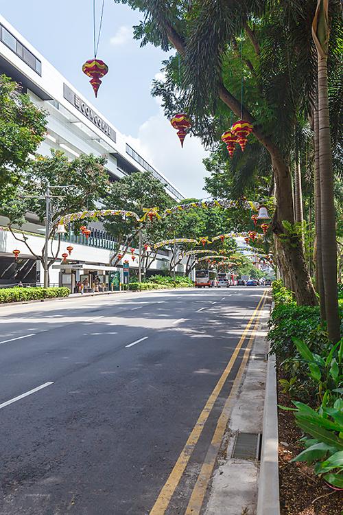 Орчард роуд в Сингапуре