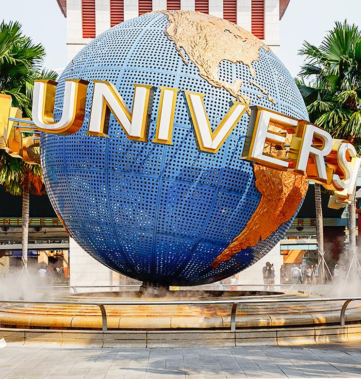 Парк развлечений Universal Pictures на Сентозе